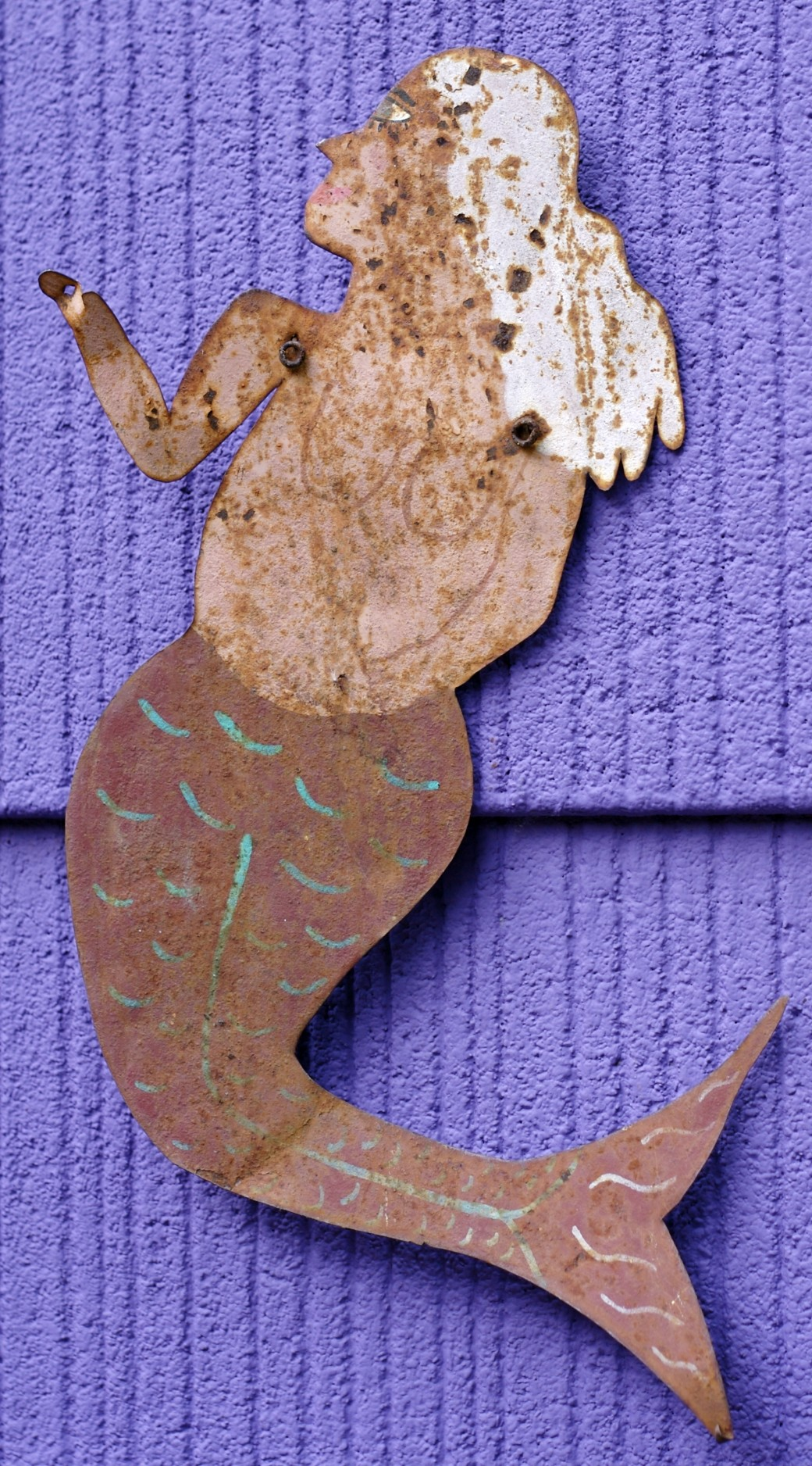 mermaid folk art