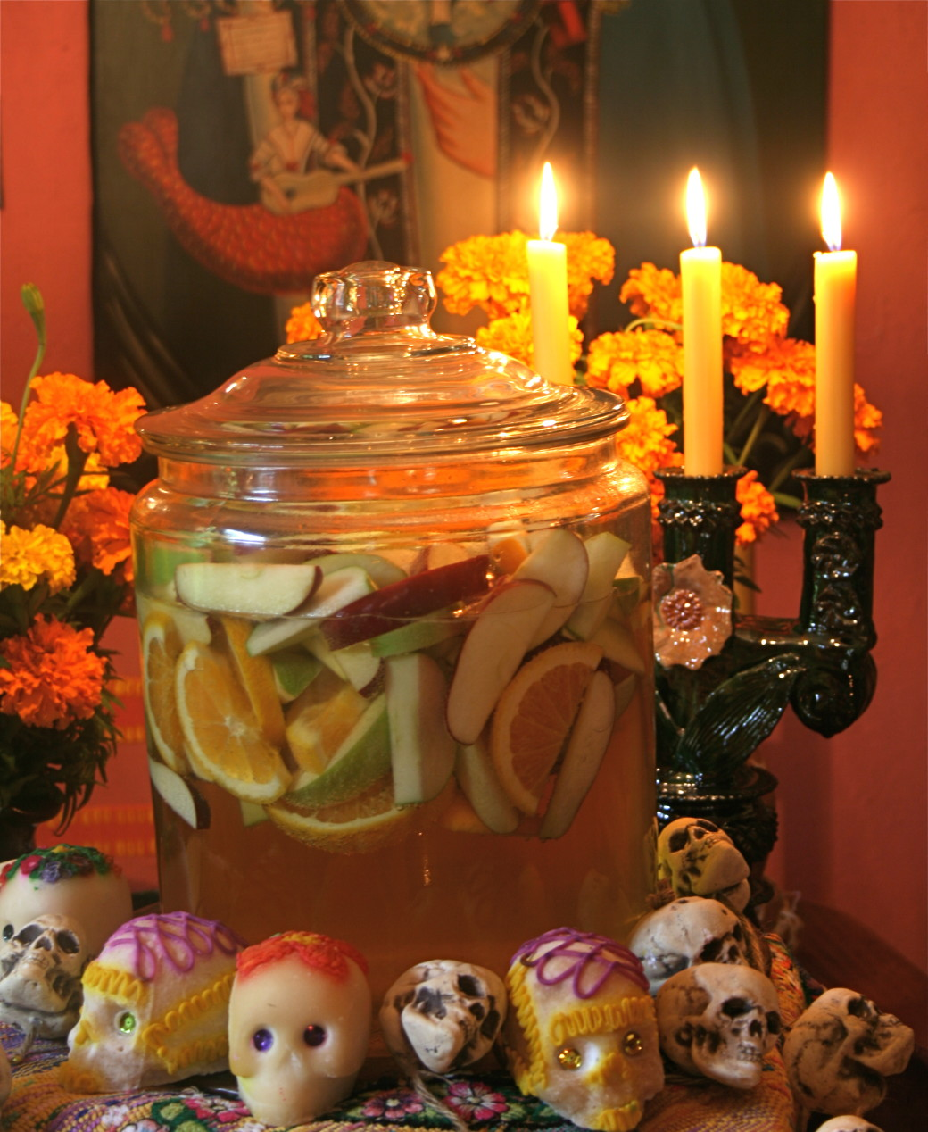 tequila punch day of the dead