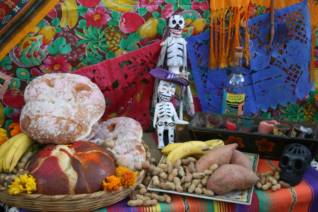 Day of the Dead altar Dia de Los Muertos altar