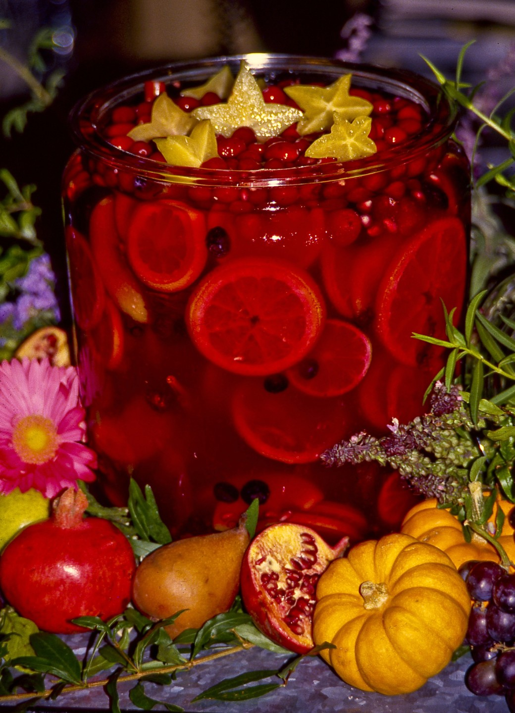 party punch tequila punch festive fall punch